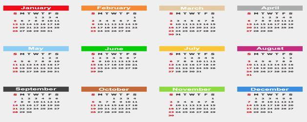 Calendari de pagès